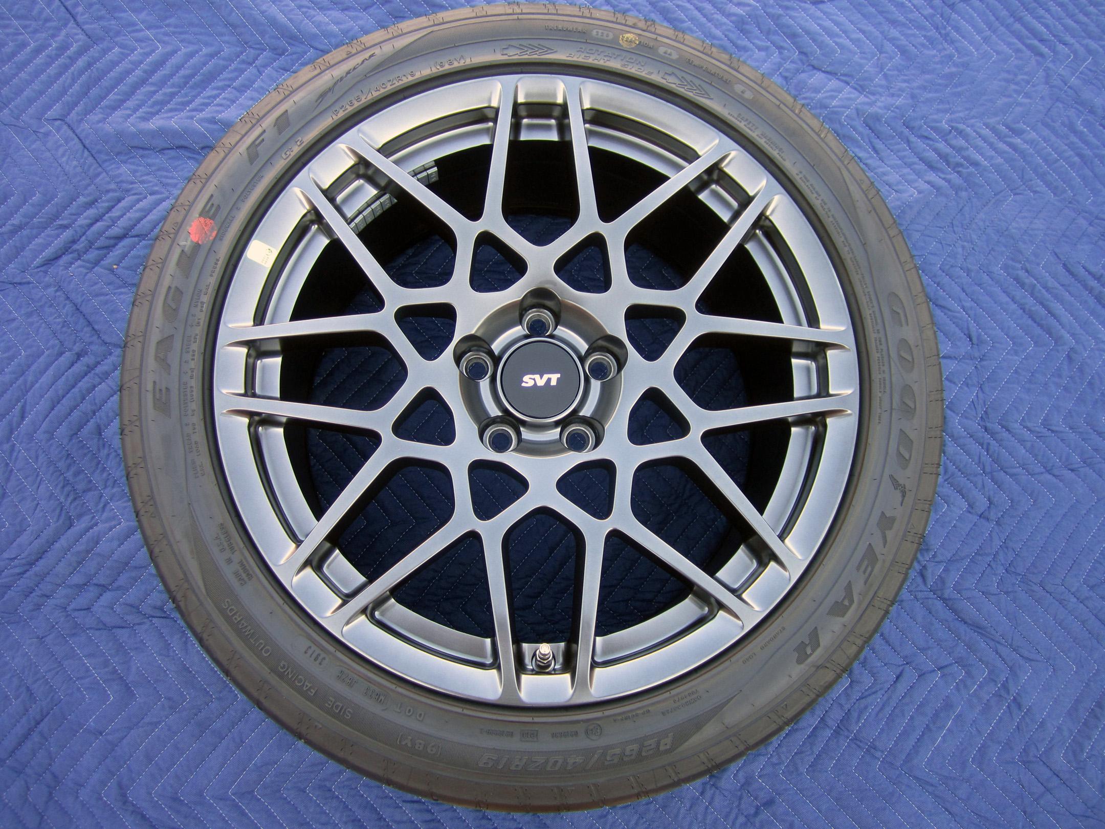 "Set 4 2014 Mustang GT500 SVT Shelby 19"" 20"" OEM Factory"