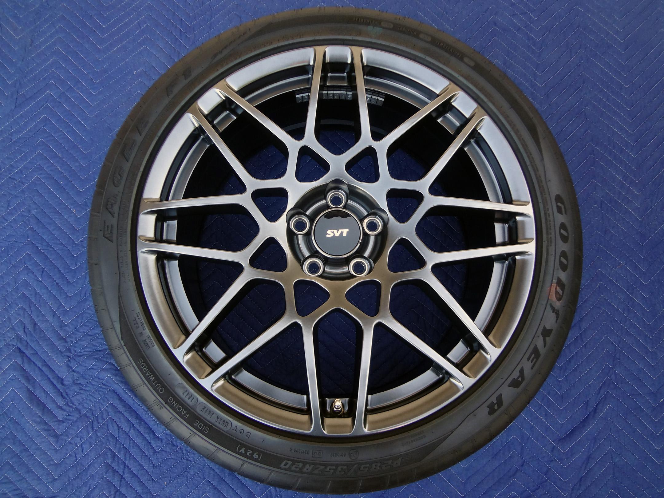 "Set 4 2013 Mustang GT500 SVT Shelby 19"" 20"" OEM Factory"